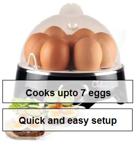 DB-Tech DB-EGG50 Electric Egg Cooker