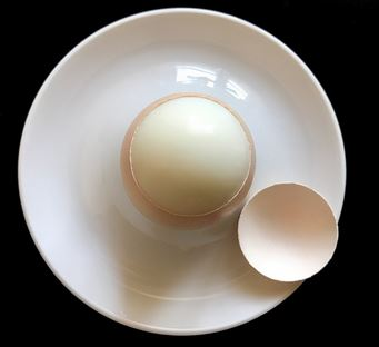 Peeling Soft Boiled Eggs